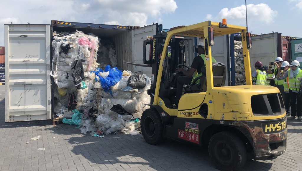 Plastic waste dumped in Malaysia will be returned to US, others