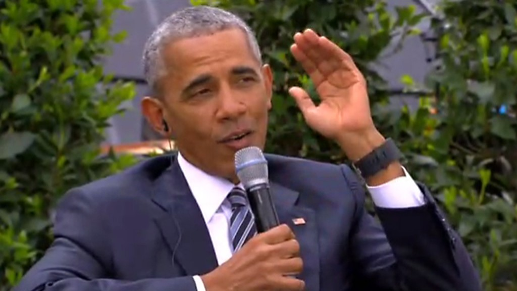 Without naming Trump, Obama defends merits of globalism