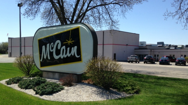 City official: McCain in Fort Atkinson to close plant this year