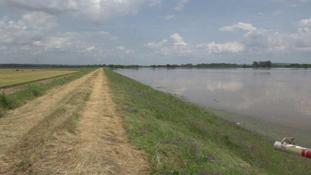 Army Corps Of Engineers talks about damage to levees