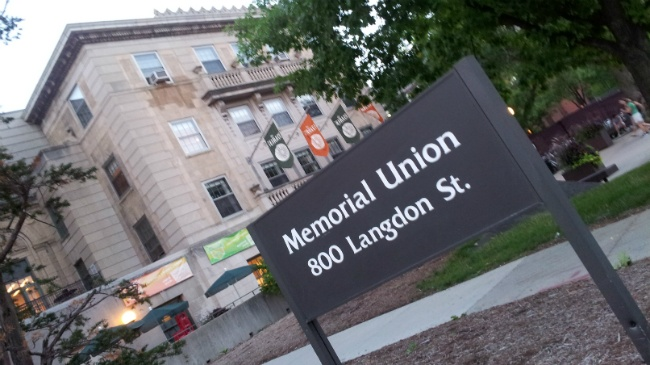 Langdon Street in front of Memorial Union to reopen for winter