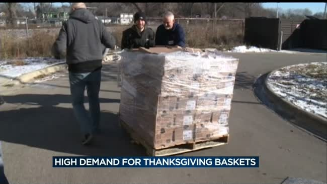 Center aims to feed record number of families