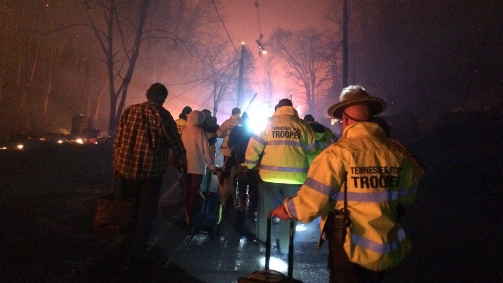 Tenn. wildfires: 2 teens charged