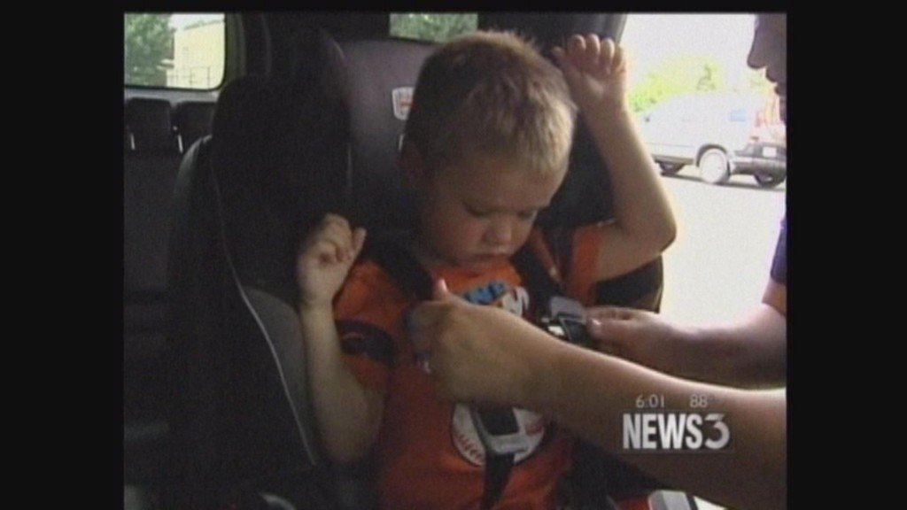 Interstate crash prompts emphasis on proper restraints for kids