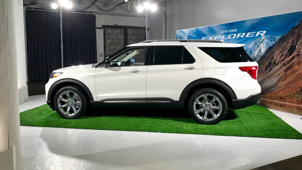 Ford unveils completely redesigned Explorer SUV