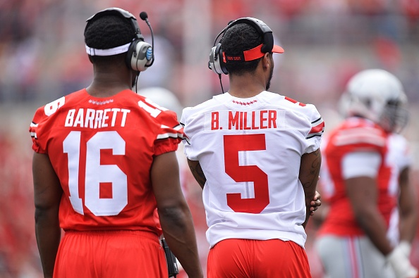 Ohio State's Miller changing positions from QB to WR