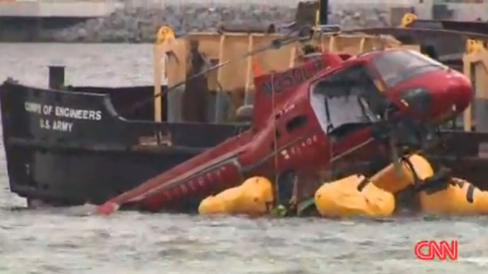 NTSB releases preliminary report on New York City helicopter crash