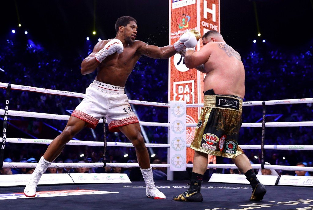 Anthony Joshua wins rematch with Andy Ruiz Jr.