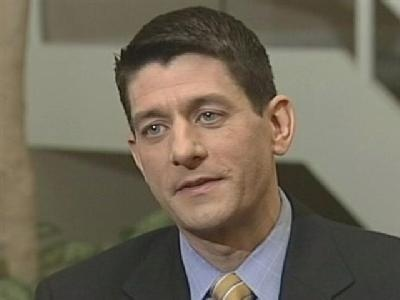 U.S. Rep. Ryan pounds Obama on spending