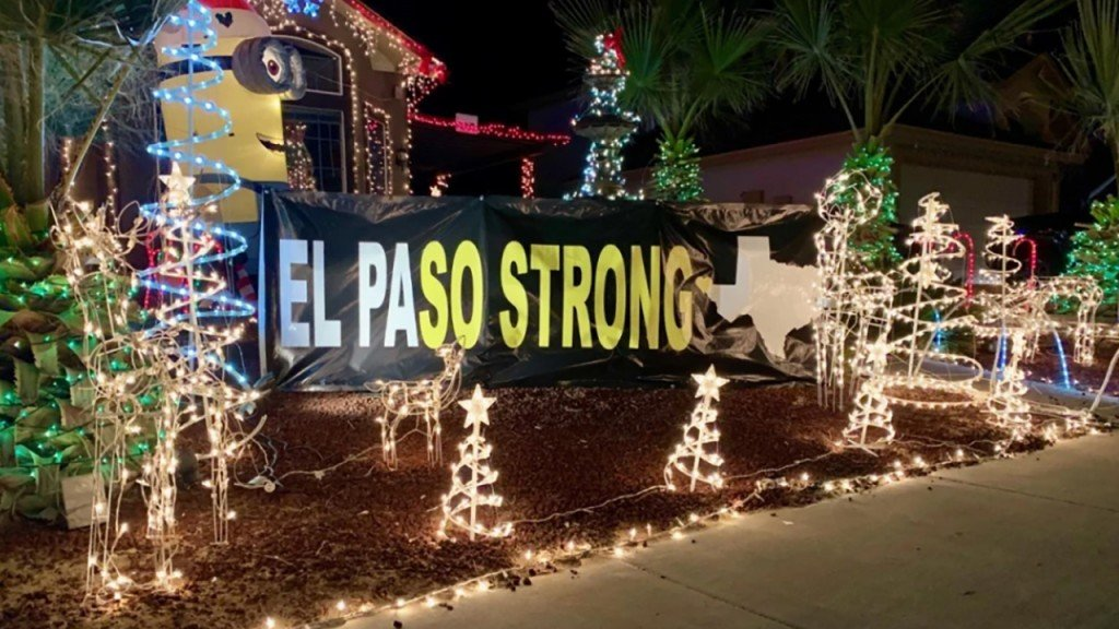 El Paso shooting victims Christmas display includes 22 angels