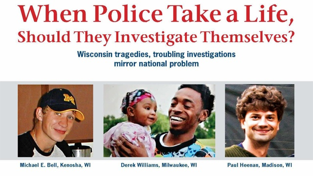Families lobby for review of officer-involved deaths