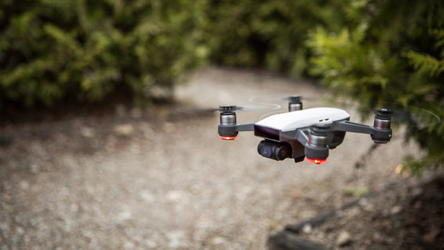 DJI's new drone fits in the palm of your hand