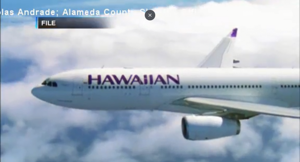 A photo and a leaky can of pepper spray ruined this flight to Hawaii