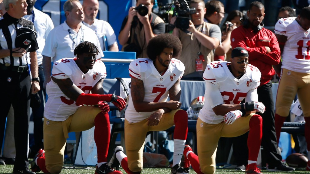 #StillWithKap trends on Twitter ahead of Kaepernick's NFL workout