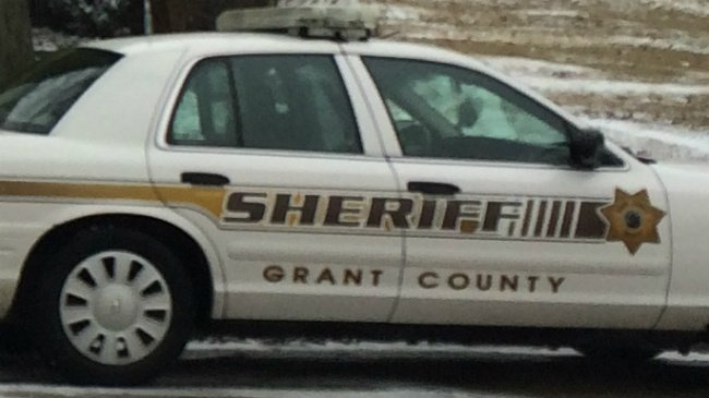 grant county sheriff car