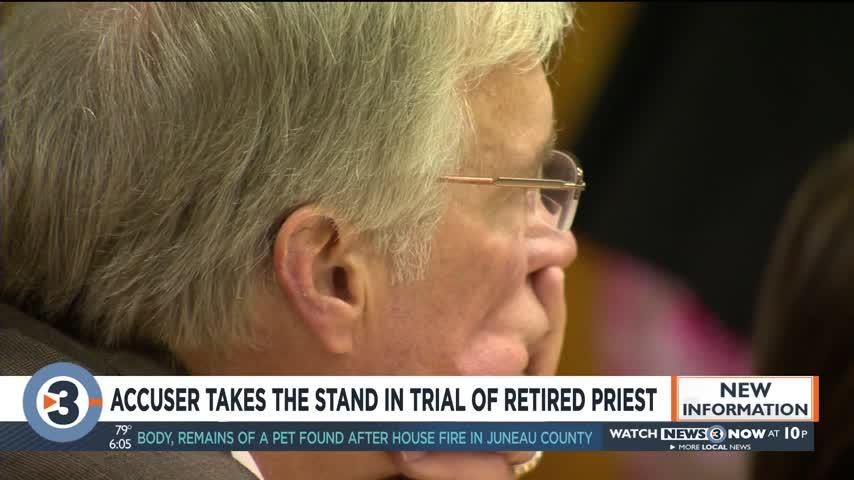 Accuser says he didn't want to get retired Catholic priest 'in trouble' by reporting sexual abuse
