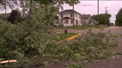 Homes, trees damaged by storm in Lancaster