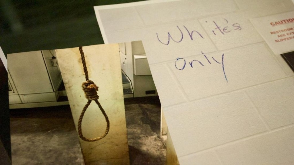 Inside GM plant, where nooses, 'whites-only' signs hung