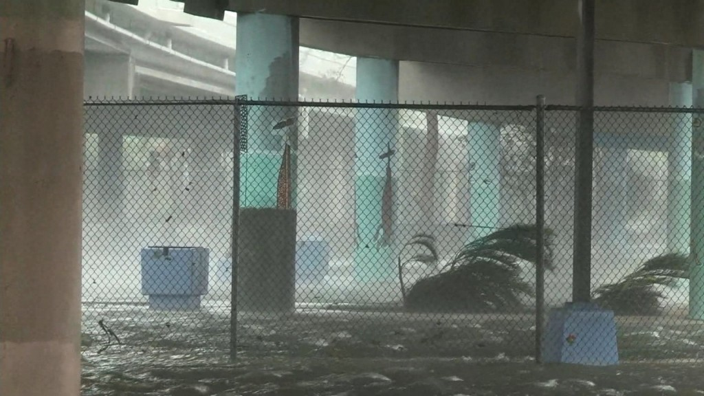 Hurricane Irma hits Florida