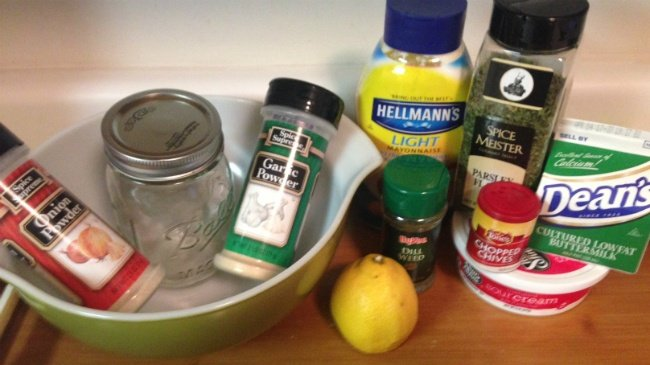 Homemade ranch dressing comes close to restaurant ranch dressing