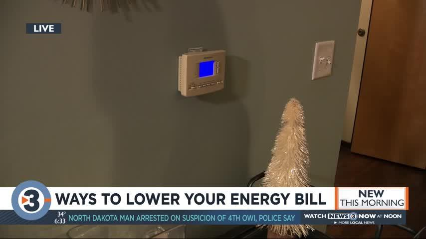 Ways to lower energy bills