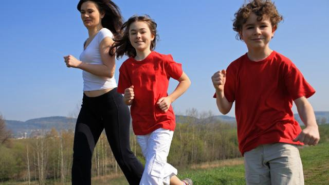 How to get kids into running
