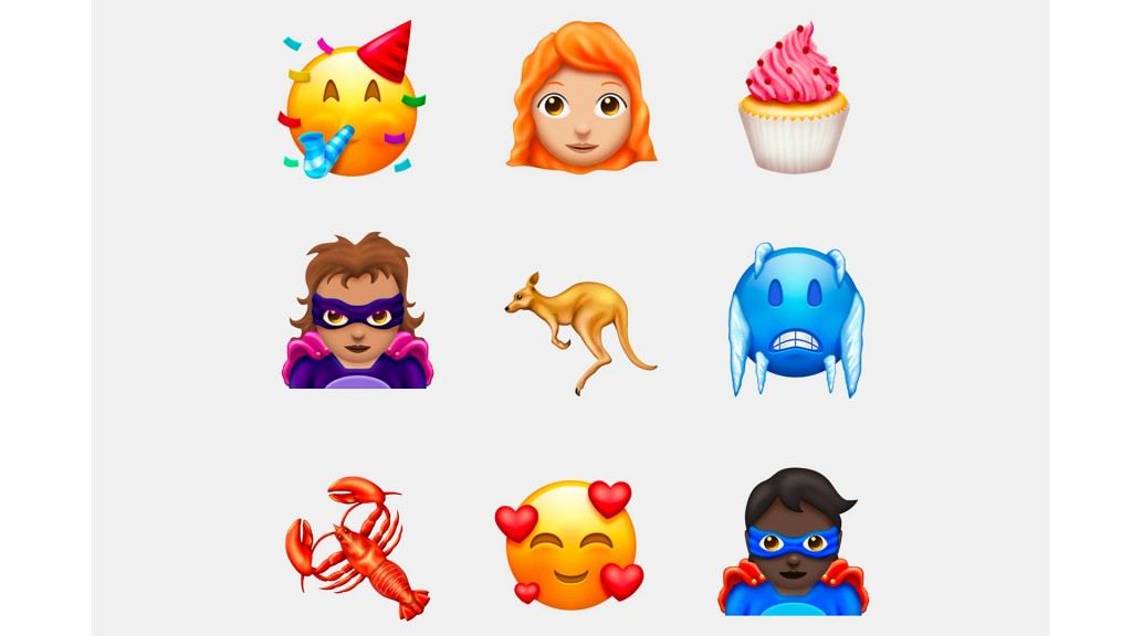 157 new emojis coming to iOS, Android