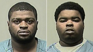 2 arrested in violent driveway robbery