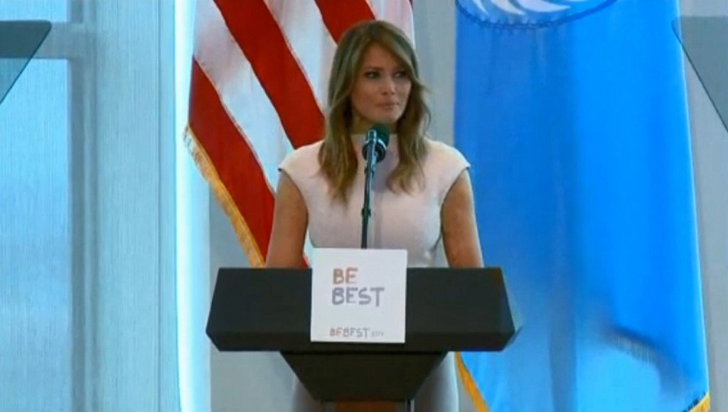 Melania Trump details her solo trip to Africa