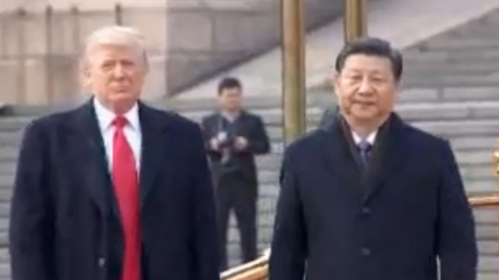 Trump on China's Xi consolidating power: 'Maybe we'll give that a shot some day'