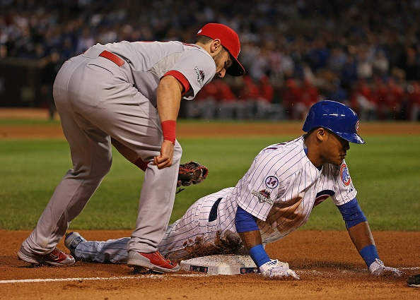 Cubs will be without SS Russell in NLCS