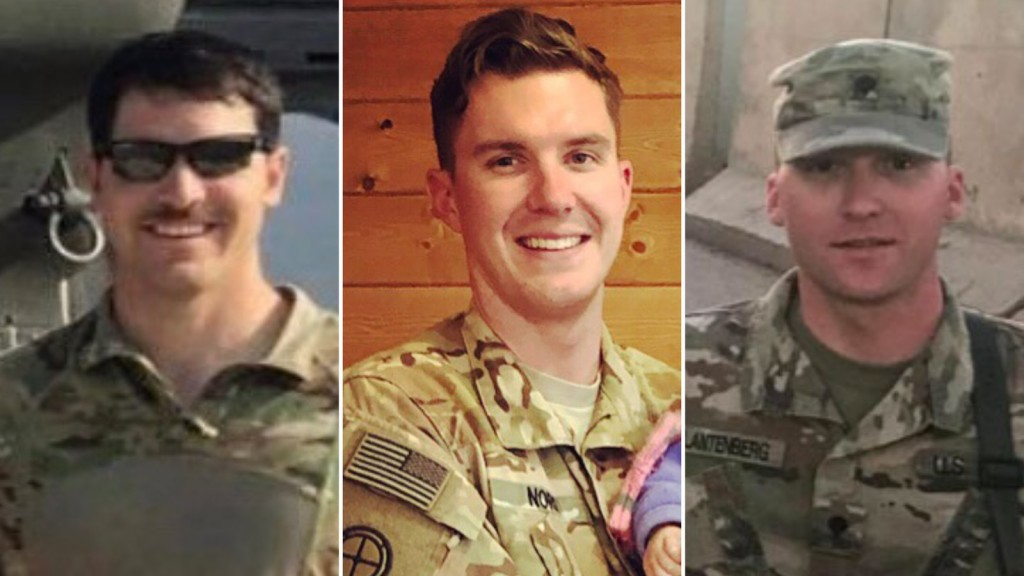 3 National Guard soldiers killed in helicopter crash ID'd