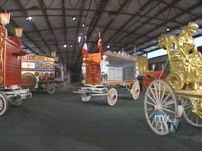 Ringling Bros. Bell Wagon will leave Baraboo