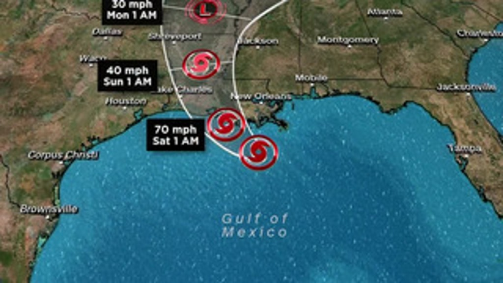 Barry: Triple threat of storm surge, high rivers and flooding