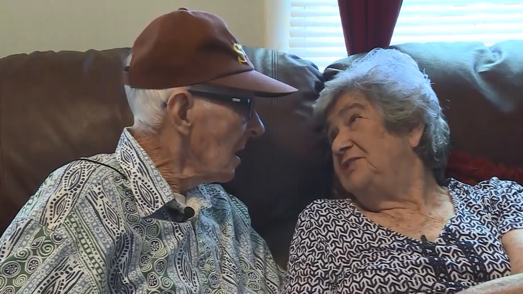 Couple married 71 years pass on same day