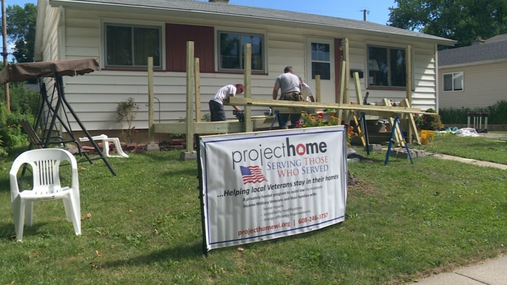 Project Home begins work on 2 veterans' homes