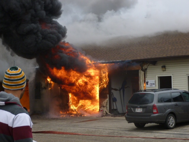 Car fire at storage facility causes $150K in damage