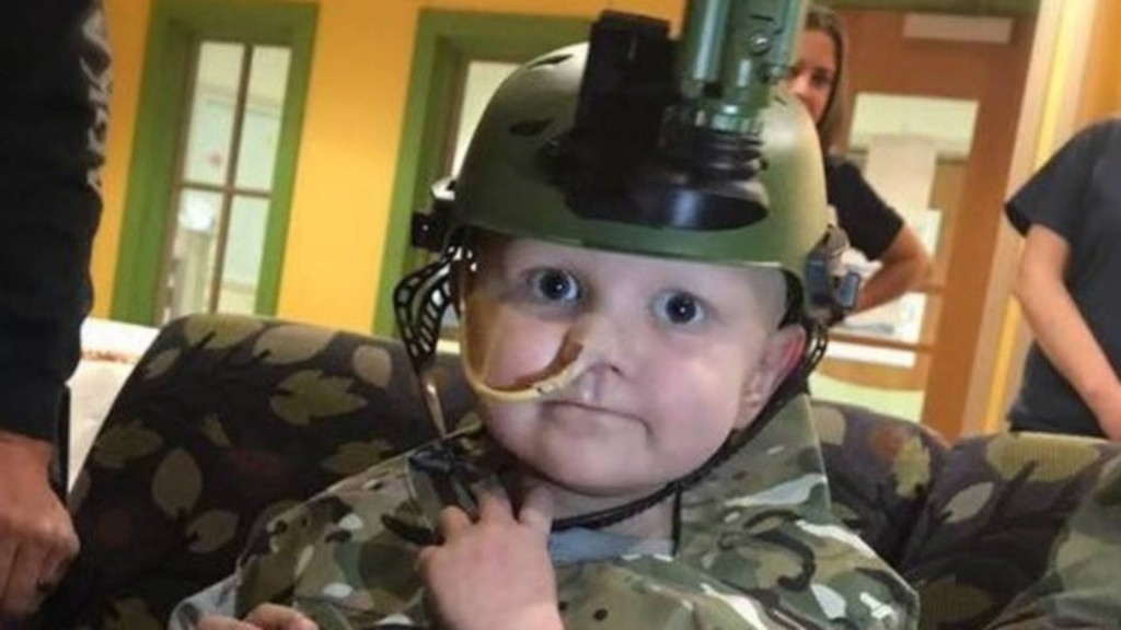 Arkansas National Guard honors 5-year-old who died from cancer