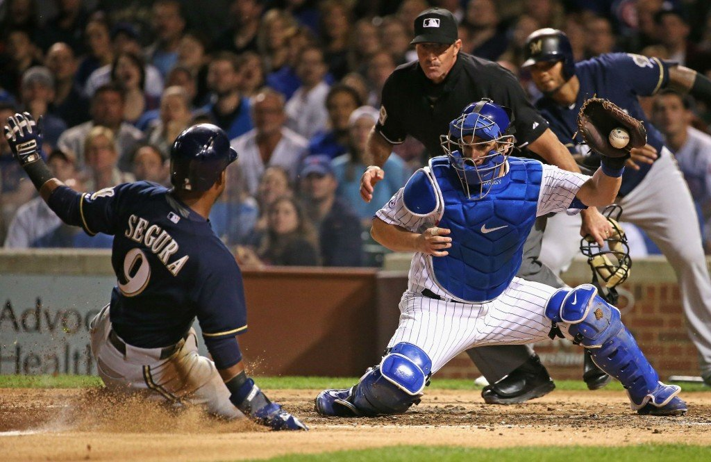 Brewers beat Cubs 4-1