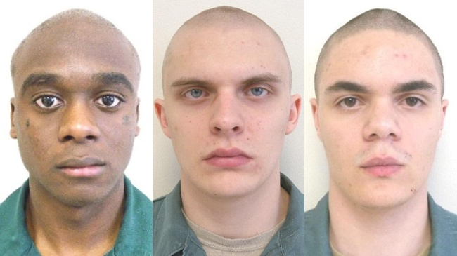 2 of 3 inmates AWOL from corrections camp captured