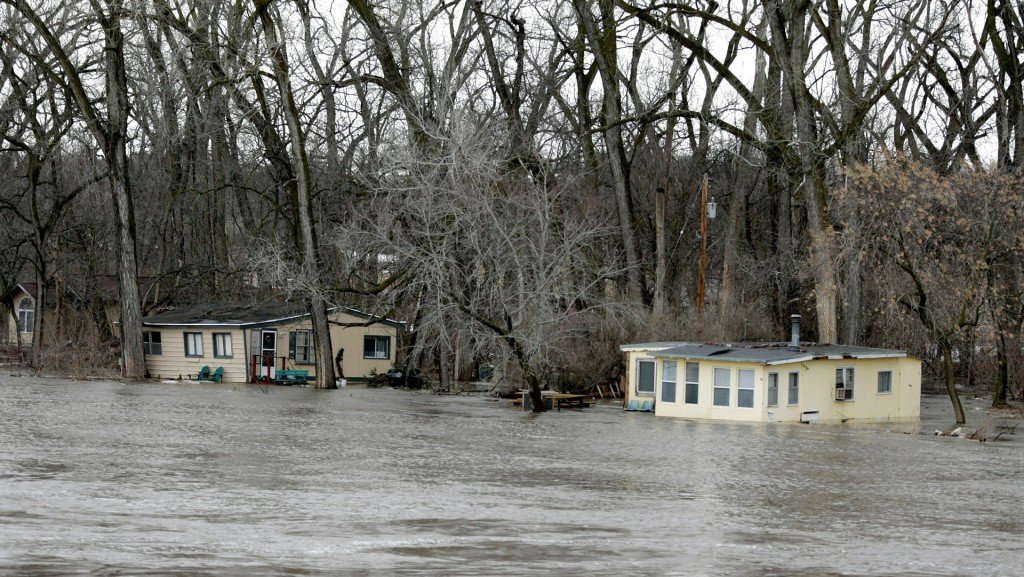 Nebraska floods have broken records in 17 places across the state