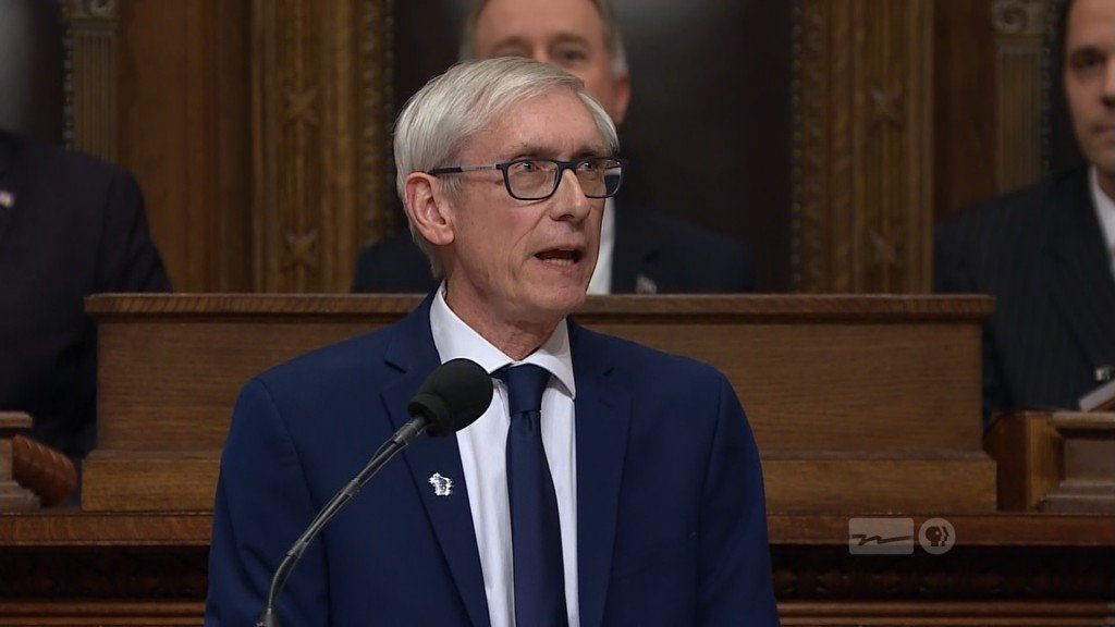 PHOTOS: Evers calls for school funding increase, ACA lawsuit withdrawal in State of the State speech