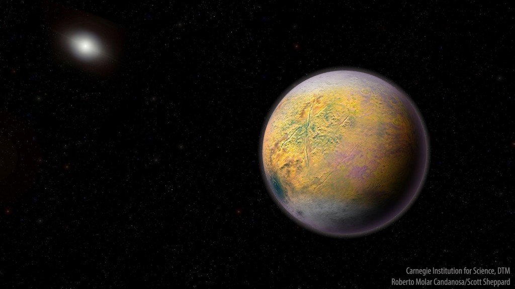 Hunt for Planet X turns up new solar system object