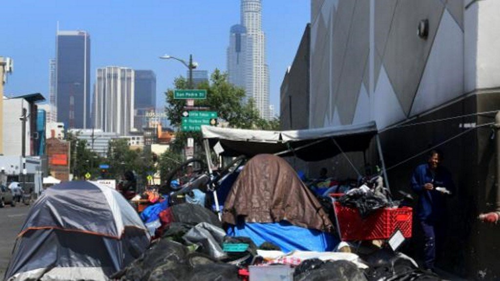 Trump admin. sends team to LA for 'fact finding' on homelessness