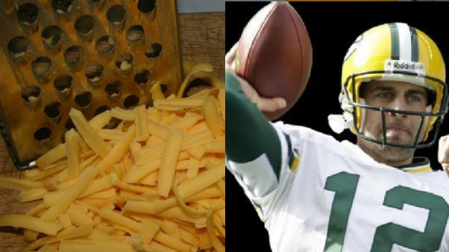 Cheese, then Aaron Rodgers most popular things in Wisconsin