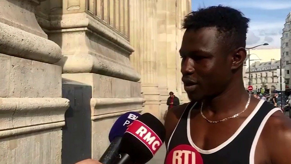'Spider-Man' granted French citizenship after rescue