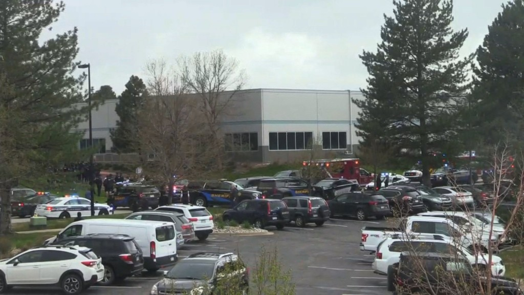 Multiple hurt in school shooting in suburban Denver