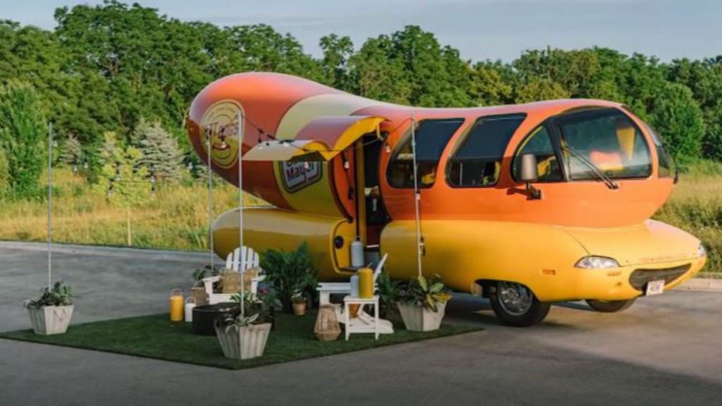 You can rent night's stay in Oscar Mayer Wienermobile on Airbnb