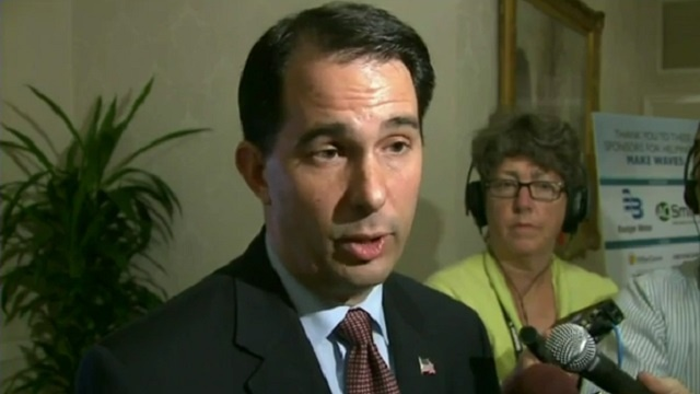 Gov. Walker refuses to answer question on evolution