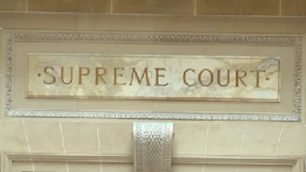 The Wisconsin Supreme Court chamber